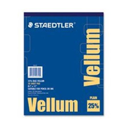 Staedtler STD946T811 Vellum Paper Pad, 50 Piece