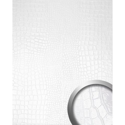 WallFace 16431 CROCONOVA Wall panel textured luxury decor magic white 2.60 sqm