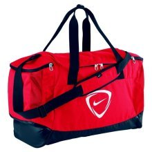 Nike Club Team Duffel Bag Small Red 43L 40x23x27cm