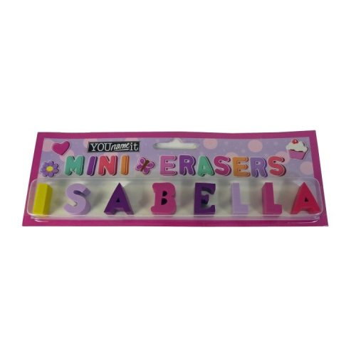 Childrens Mini Erasers - Isabella