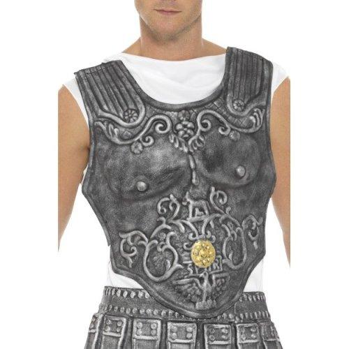Smiffy's 21993 Roman Armour Breastplate (one Size) -  mens roman warrior armour breastplate skirt gladiator fancy dress accessory