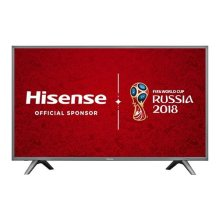 Hisense H49N5700UK 49-Inch 4K UHD Smart TV - Grey (2017 Model)