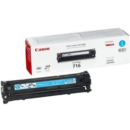 Canon 716 Cyan Cartridge 1500pages Cyan