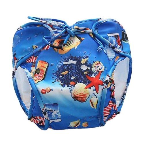 [Shell] Reuseable Baby Swim Diaper Lovely Infant Swim Nappy Swimwear