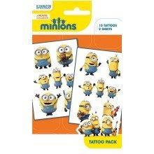 Minions Mix 1 Tattoo Pack