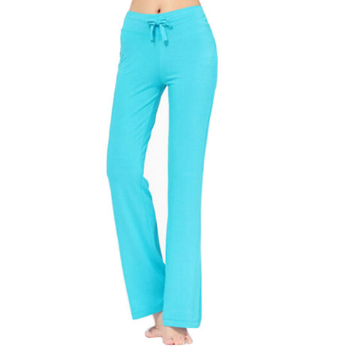Women Women's Super Soft Modal Yoga Gym Workout Track Lounge Pants?sky blue