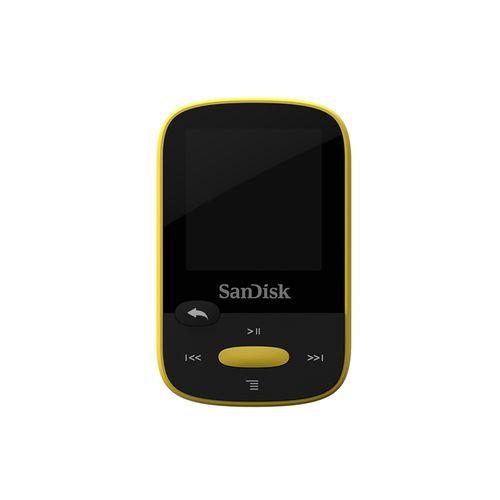 Sandisk Clip Sport 8GB MP3 8GB Black,Yellow