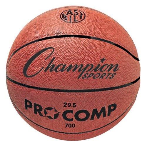 Champion Sports C700 29.5 in. Composite Game Basketball, Orange