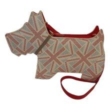 RADLEY 'Union Jack' Small Leather Clutch/Shoulder Bag