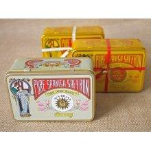 Hea & Co. Spanish Saffron 10 g Gift Decorative Tin