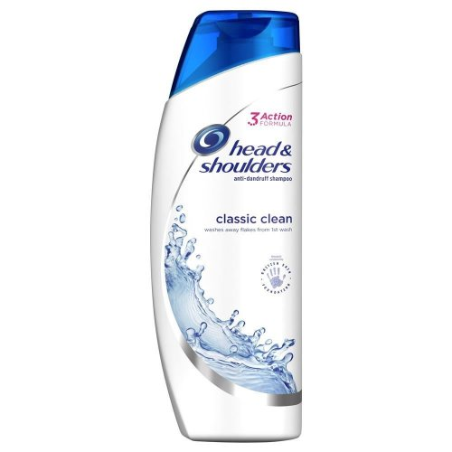 Head & Shoulders Anti-Dandruff Shampoo Classic Clean Hydrates Softens Hair 250ml