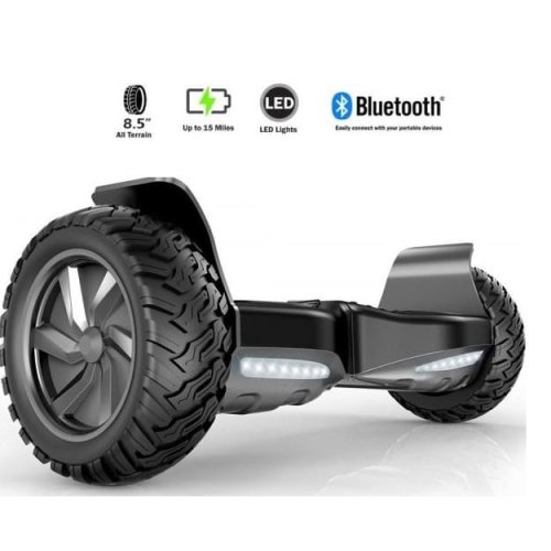 Black All Terrain Bluetooth Hummer Segway Hoverboard Swegway