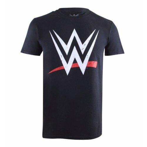 WWE Logo Mens T-shirt Black