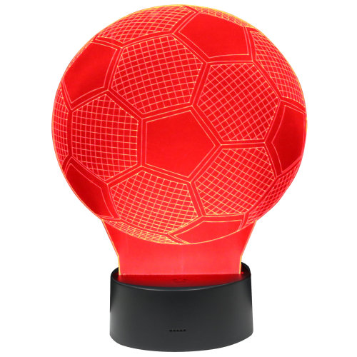 TRIXES 3d Football Lamp