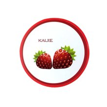 Portable Lenses Supplier Red Strawberry Style Contact Lenses Holder, 7x7x2cm