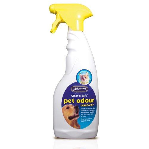 Jvp Clean 'n' Safe Pet Odour Remover 500ml Trigger (Pack of 6)