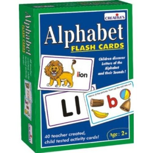 Pre-school Alphabet Flash Cards Game - Creative Educational Preschool Cre0519 -  creative educational preschool alphabet flash cards cre0519