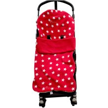 Snuggle Footmuff / Cosy Toes Compatible with Cosatto Buggy Giggle Yo! Supa Dupa Ooba Red Star