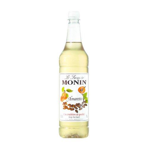 Monin Amaretto Coffee Syrup 1 Litre (plastic)