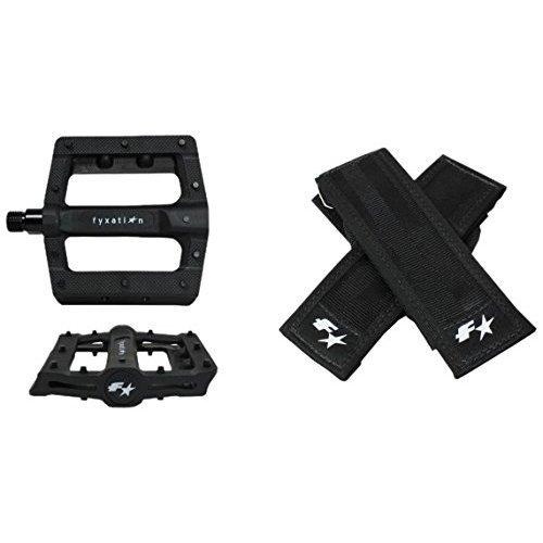Fyxation Gates Slim Pedal Strap Kit Black