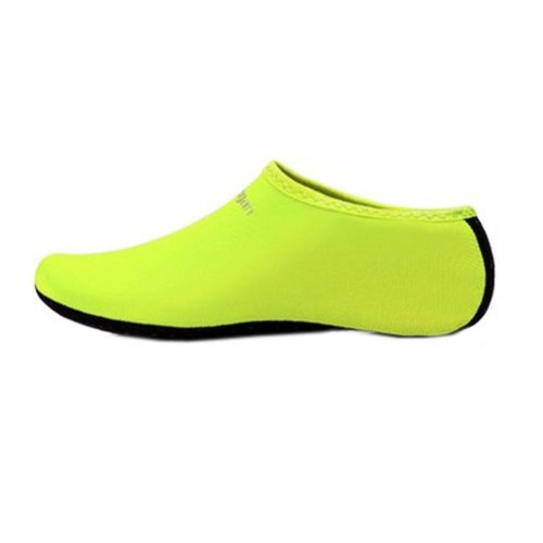 Sand Socks Water Skin Shoes Diving Socks,Green XL