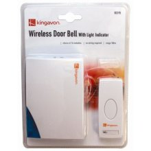 Wireless Door Bell With Light - Indicator Chime -  light indicator wireless door chime