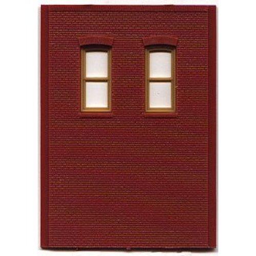 HO DPM 2 Story/2 High Rectangle Windows (4)