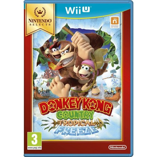 Donkey Kong Country Tropical Freeze Nintendo Wii U Game - Selects Edition
