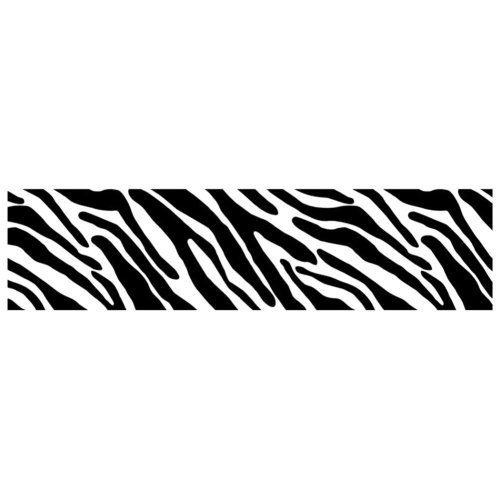 Cool Bike Decorations Fixed Gear Bicycle Sticker For Bicycle Frame - Zebra