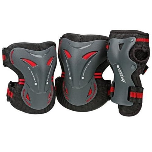Tarmac Tri Pack Adult, Black - Small