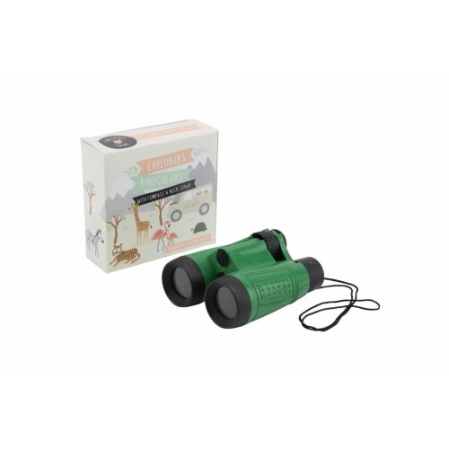 CGB Giftware The Little Tribe Binoculars With Compass And Strap