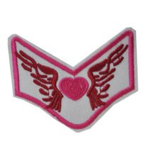 Set of 2 Creative Fashion Unique Wing Patches Armband Badge Applique 2.5*2""
