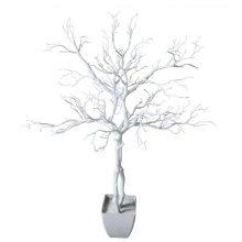 95cm Deluxe Artificial White Wishing Tree Manzanita Plant
