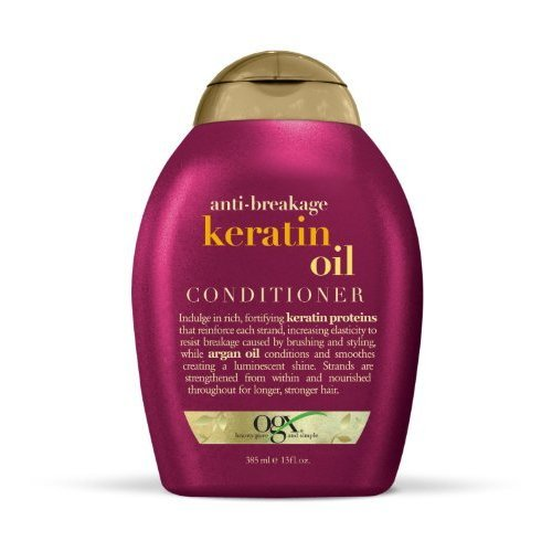 OGX Conditioner, Anti-Breakage Keratin Oil, 13 oz (Pack of 2)