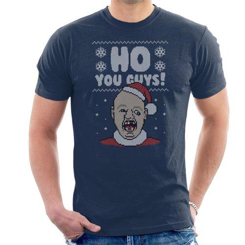Ho You Guys Sloth Goonies Christmas Knit Pattern Men's T-Shirt