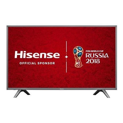 Hisense H49N5700UK 49-Inch 4K UHD Smart TV - Grey (2017 Model)