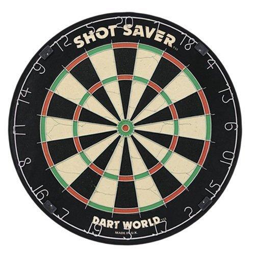 Dart World 83752 Shot Saver Tournament Quality Bristle Dartboard