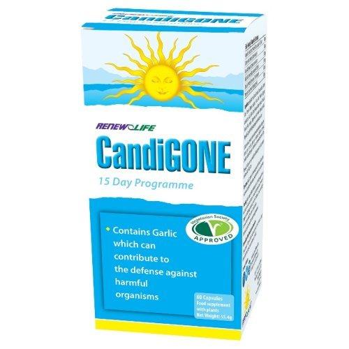 Renew Life  Candigone Capsules 60s