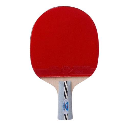 Table Tennis Racket Shake Hand Rackets, Wathet Blue Short Handle