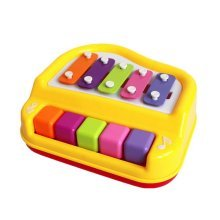 Hammer Percussion Hand Knock Children Music Toy Piano--Five keyboard