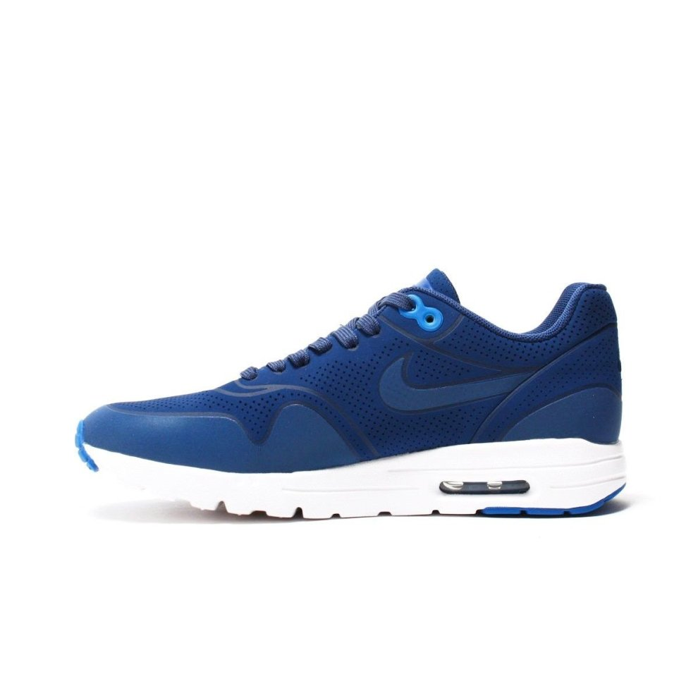 2d9558c1ee ... New Womens Nike Air Max 1 Ultra Moire Trainers Blue 704995 403 - 1 ...