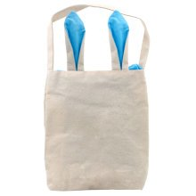 Trixes Rabbit Ears Carry Bag | Canvas Easter Bunny Bag