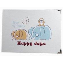 Creative DIY Memory Photobook Photo Albums of Baby's 5yrs,10'' [Happy Days]