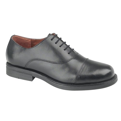 Scimitar Boys Oxford Cadet Shoe Black 3 UK