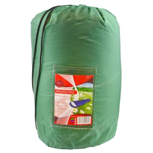 Adult 3 Season Sleeping Bag Camping Summer Festival - Green CMP20