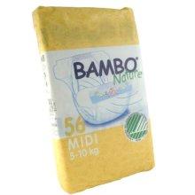 Beaming Baby Bambo Midi Nappies 66's