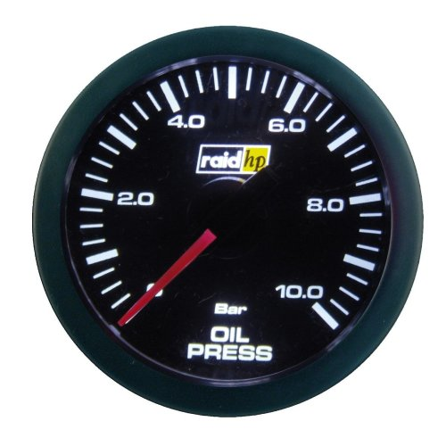 Raid HP 660173 Sport Series Oil Pressure Gauge