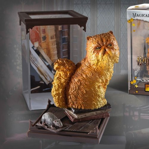 Harry Potter Magical Creatures Statue Crookshanks 13 Cm Filme & Dvds