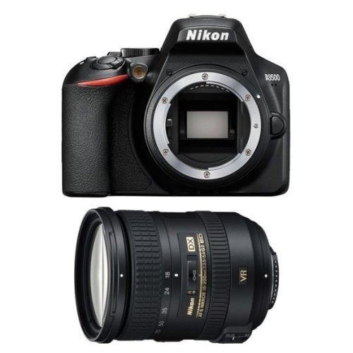 NIKON D3500 Black + AF-S 18-200MM F3.5-5.6G ED VR II DX
