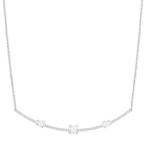 Swarovski Gray Necklace - White - 5272361